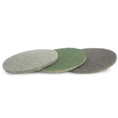 3 step diamond polishing pad